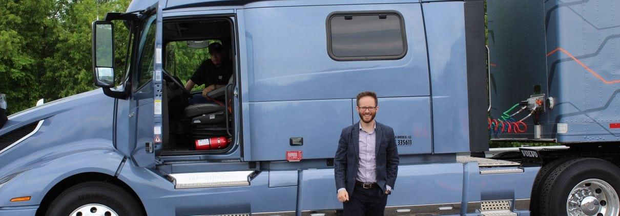 Charles Slife, The Austin Company NRV Visit