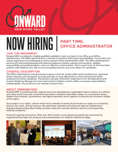 Onward NRV Jobs