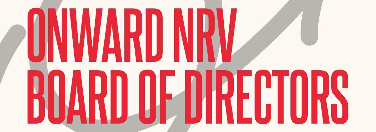 Onward NRV 2021 Annual Elections